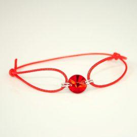 Czerwona bransoletka LS