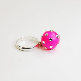 Pierścionek Pink Pearl