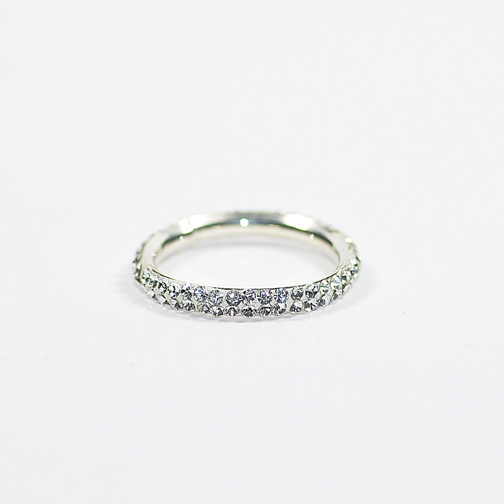Obrączka srebrna CR