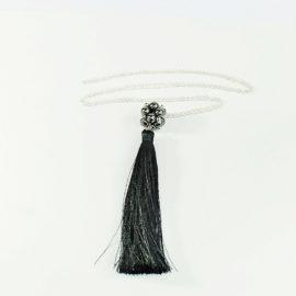 Naszyjnik ze srebra z perłami