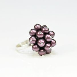 Pierścionek z perłami B