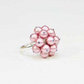 Pierścionek z perłami R