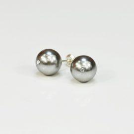 Kolczyki z perłą DG