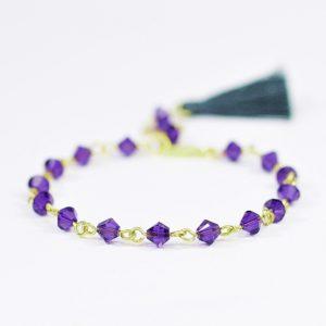 Bransoletka Holy Purple